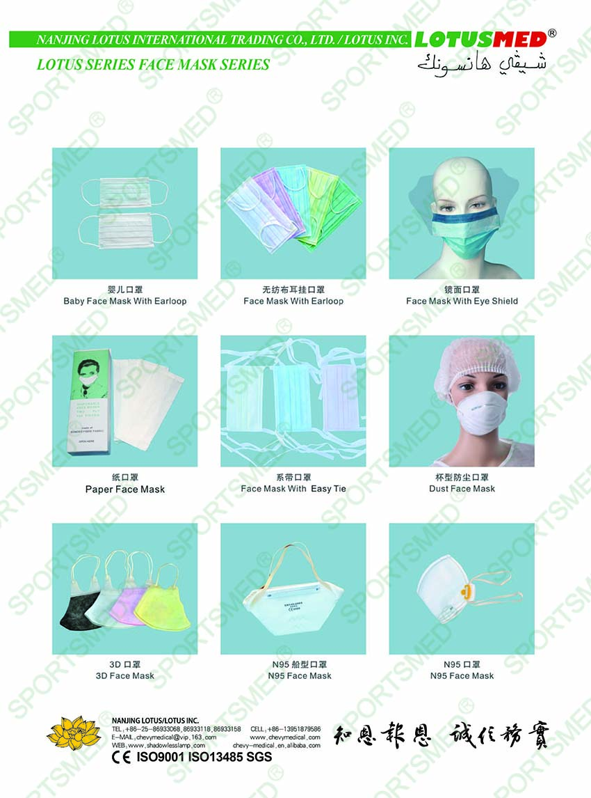 LOTUSMED FACE MASK SERIES-2